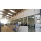 divisória eucatex para indústria orçamento Porto Feliz