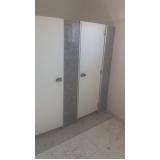 divisória para banheiro coletivo valor Porto Feliz