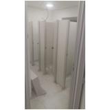divisórias sanitárias para empresas Iperó